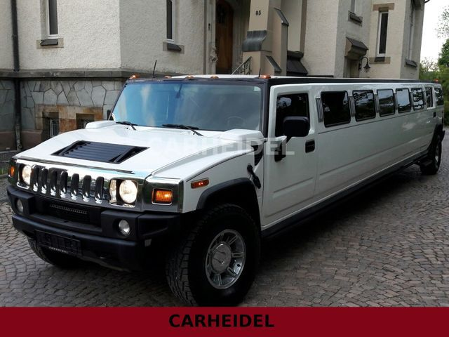 Hummer H2 STRETCH LIMO V8 6.0 LEDER*SOUND*BAR*LUXUS*!! - foto principale