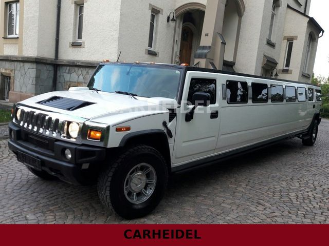Hummer H2 STRETCH LIMO V8 6.0 LEDER*SOUND*BAR*LUXUS*!! - anteprima